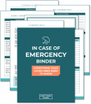 Updated Family Emergency Binder
